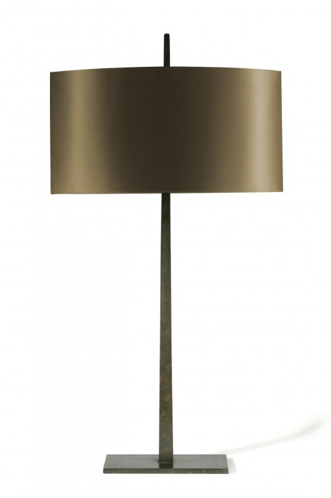 Large Tapering Harral Lamp | Bronzed