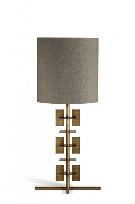 Stages Lamp | Antiqued Brass