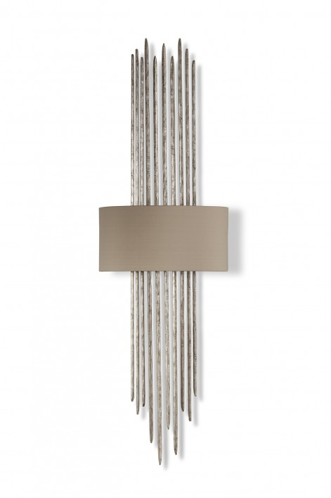 Flynn Caged Wall Light | Decayed Silver