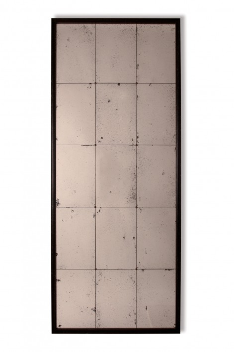 Tall Riviera Mirror | Bronzed with Antiqued Glass
