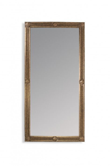 Tribe Mirror | Relic Bronze & Decayed Silver
