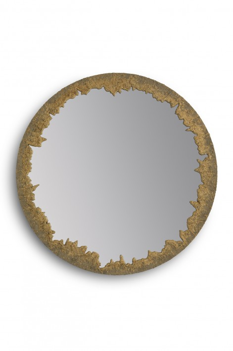Crater Mirror | Crater Gold